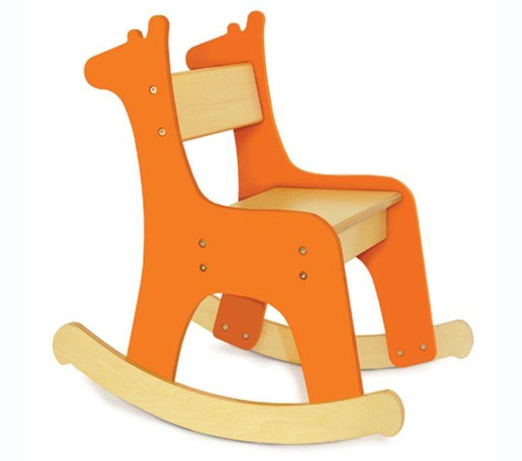 P Kolino Giraffe Rocking Chair In 2019 W S Room Wooden