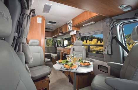 Sprinter camper van by roadtrek cross country with ruby for Mercedes benz camper van rental