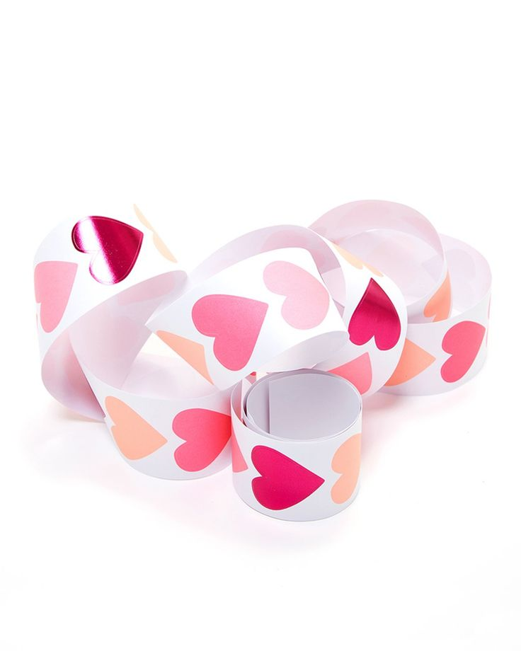 spread love one sticker at a time! we're obsessed with these heart stickers from meri meri that come in different shades of pink. you may have noticed...we kinda like pink. ooh and a metallic heart too? sign us up for four rolls of these!