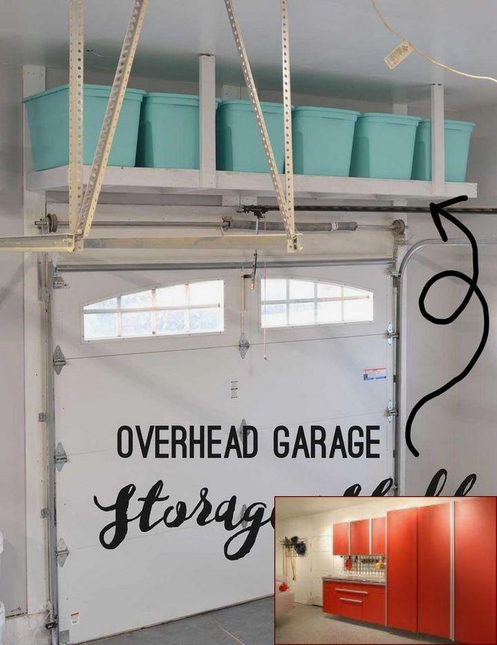 Garage Storage Lift Diy And Pics Of Garage Organization New Jersey