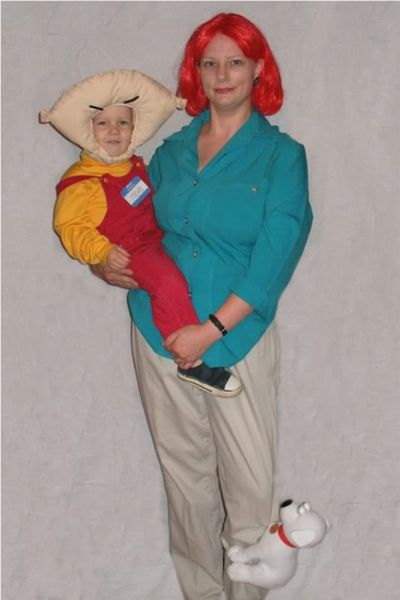family halloween costumes | Mother-Son Family Guy Halloween Costumes | GEARFUSE