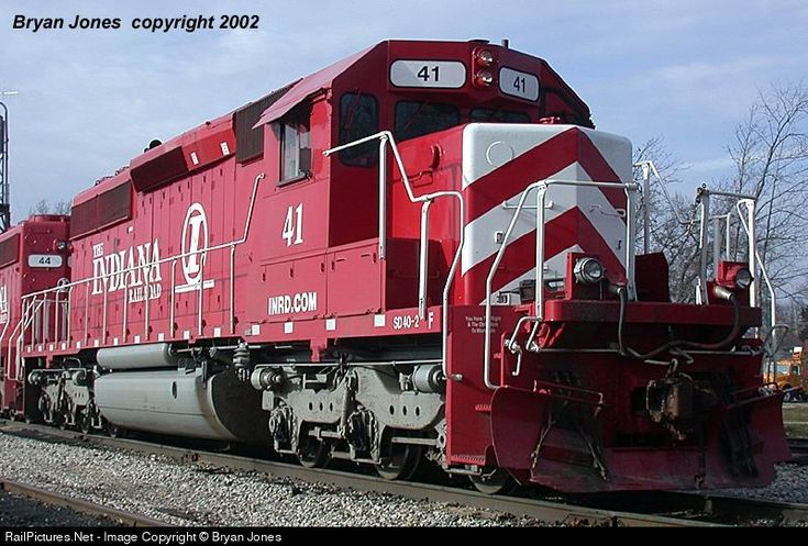 RailPictures.Net Photo: INRD 41 Indiana Rail Road EMD SD40-2 at Switz City, Indiana by Bryan Jones