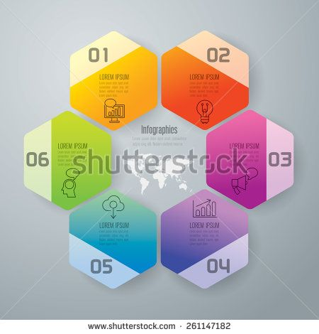 Infographic design template and marketing icons, thin line style, flat design. Can be used for workflow layout, diagram, number options, web design.