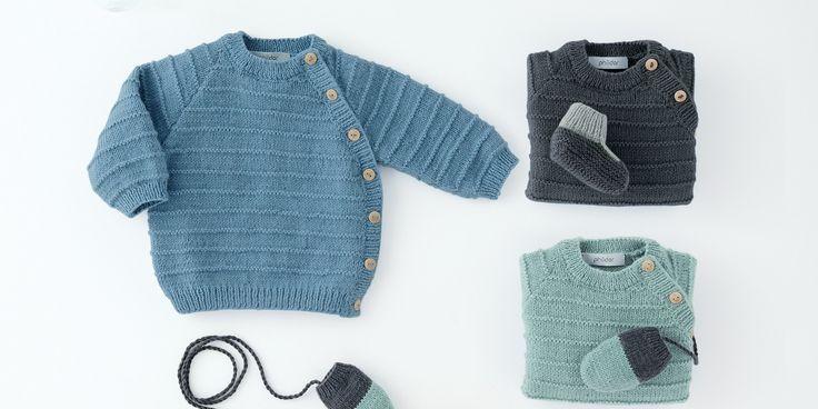 patron pour tricoter un pull enfant