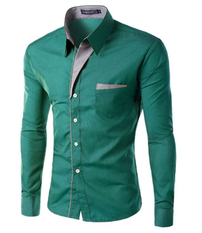 Elegantní pánská slim košile tmavě zelená – Velikost L Na tento produkt se vztahuje nejen zajímavá sleva, ale také poštovné zdarma! Využij této výhodné nabídky a ušetři na poštovném, stejně jako to udělalo již velké …