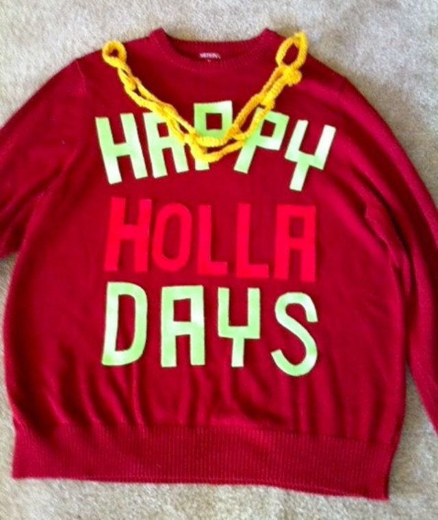 10 Best Ugly DIY Christmas Sweaters