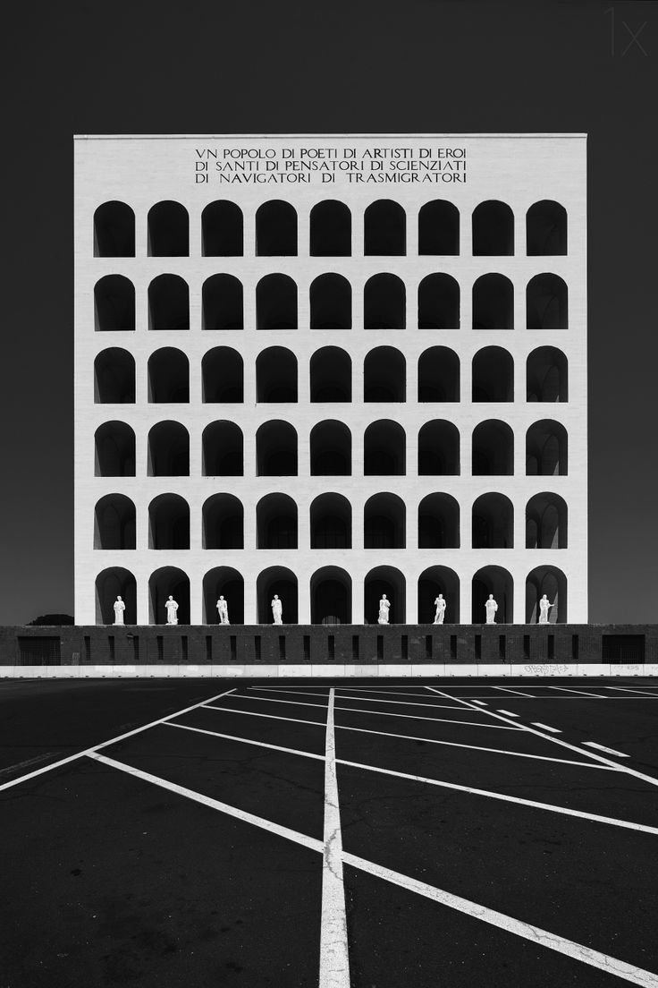 Visions of an Industrial Age // Roma: Palazzo della Civiltà Italiana1X - by Frank Steingass