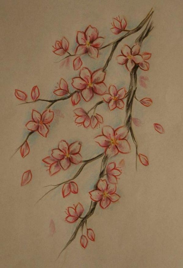 Cherry Blossom Tattoo By Suzana Stuff To Buy Pinterest