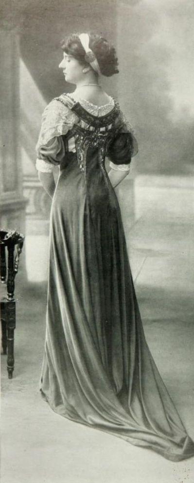 Les Modes (Paris) 1909 Robe de Diner par Martial & Armand