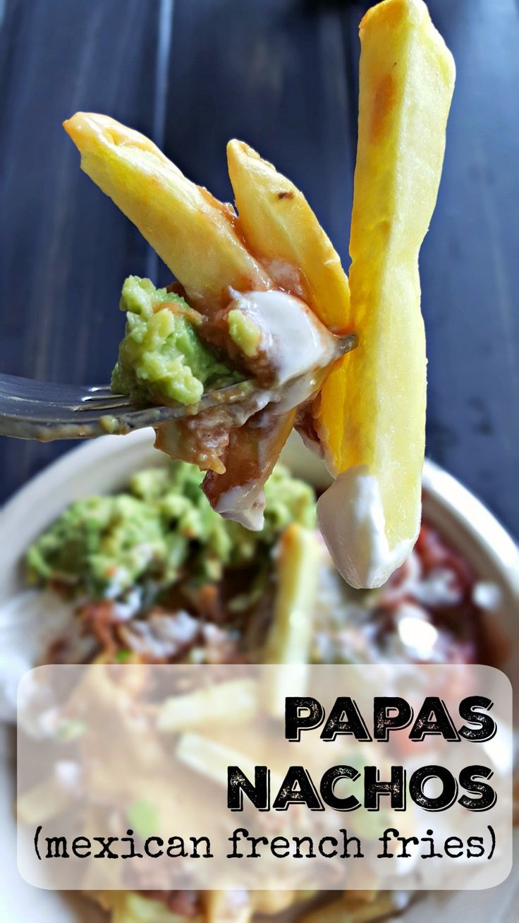 Papas Nachos (French Fry Nachos) - Powered by @ultimaterecipe