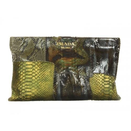 Prada Militare Python Patchwork Clutch Bag | That\u0026#39;s Clutch ...