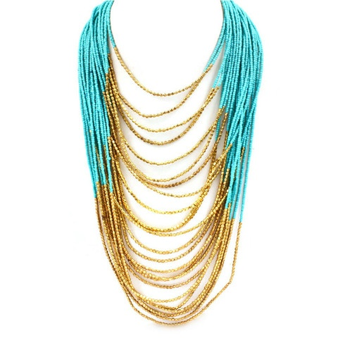 I need this. Beautiful!: Helen Of Troy, Jewelry Necklaces, Statement Necklaces, Style, Turquoise, Accessories, Troy Necklace, Troy Statement, Statement Necklace Repin