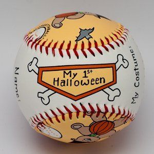 Special Occasion Baseballs by Child to Cherish (1st Halloween) $14.99 Sold At Baby Family Gifts Amazon
