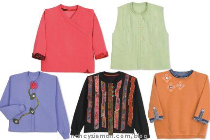 Best Sweatshirt Makeovers, Nancy Zieman Mary Mulari, Sewing With Nancy