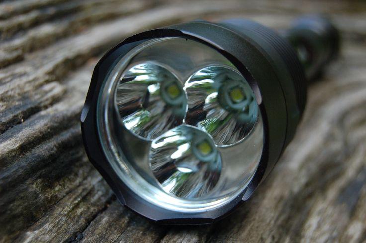 die besten 25 led taschenlampe ideen auf pinterest. Black Bedroom Furniture Sets. Home Design Ideas