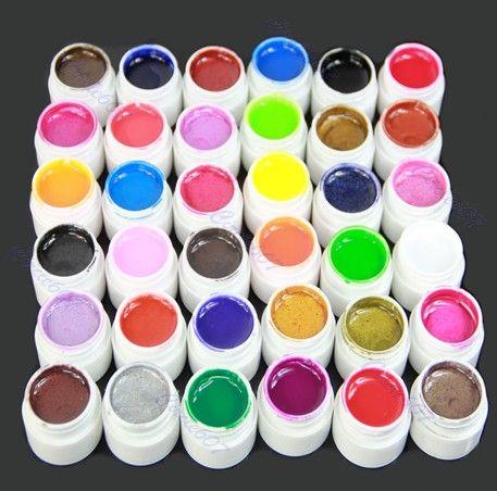 36 Colors Nail UV GEL Extension