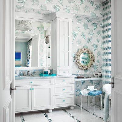 25 budget friendly mini makeovers beautify your bath by adding beachy accessories to your