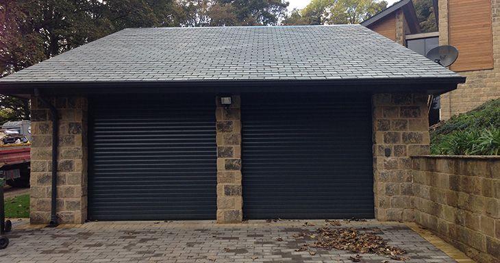 Manor House Developments commission ABi Garage Doors to install Hormann RollMatic automatic aluminium roller doors in Leeds