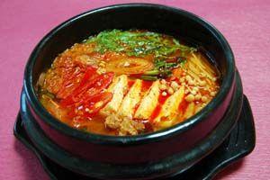 キムチチゲ(キムチ鍋)の作り方   韓国料理レシピ