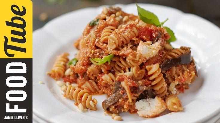 Tomato, Aubergine & Ricotta Pasta | Jamie Oliver | Everyday Super Food - YouTube