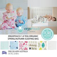 ergoPouch 1 TOG Organic Cotton Baby Sleeping Bag