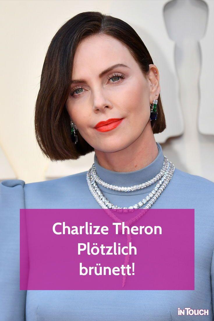 Charlize Theron: Plötzlich brünett!