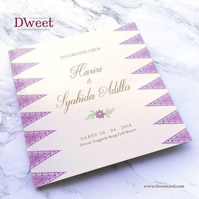 Jika Anda Menempah Kad Undangan Di Dweetcard Sekarang Anda Memang Akan Mendapat 8 Barang Anda Mungkin Akan Berpeluang Men Book Cover Kad Kahwin Books