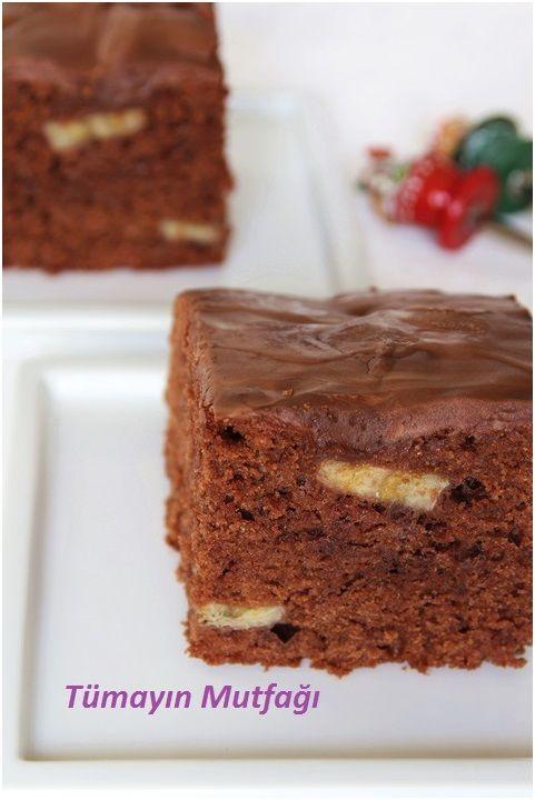 Çikolatalı Muzlu Kek