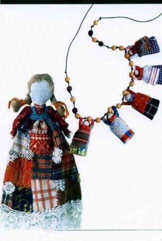 Русская тряпичная кукла » Перуница