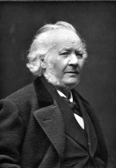 Honore Daumier, February 26,1808-February 10,1879. He was a French printmaker, caricaturist, painter and sculptor, whose many works offer commentary on social and political life in France in the 19th century- Wikipedia