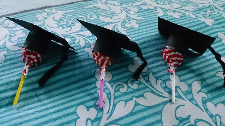 Convocation Caps for Candies...