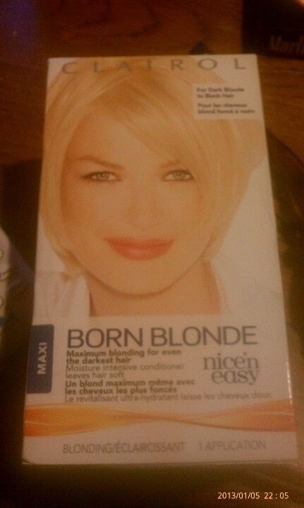 The BEST box hair dye if you want your hair VERY blonde!!