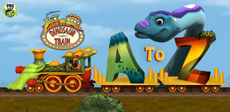 """Discover, play, read with """"Dinosaur Train A to Z""""! $0.99 (50% OFF) for a limited time on Android! http://to.pbs.org/TW_AMA_AtoZ"""