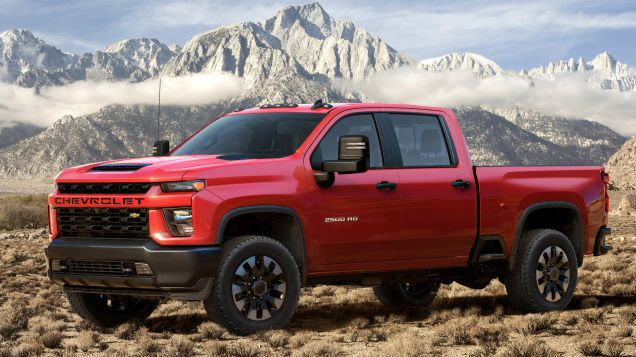 The 2020 Chevrolet Silverado Hd Duramax Diesel Can Tow Up To