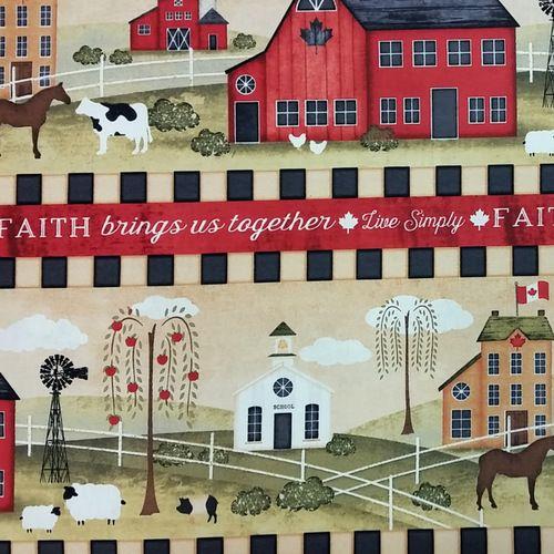 The Way Home - Farm Stripe