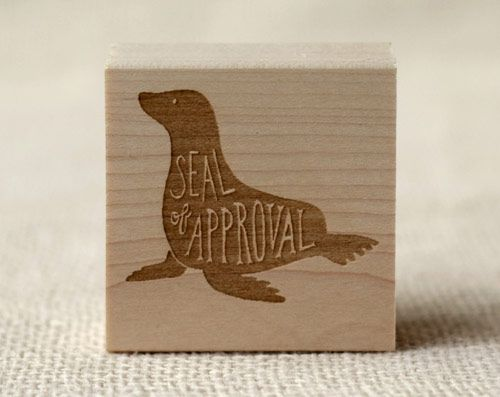 seal of approval stamp | Wit & Whistle