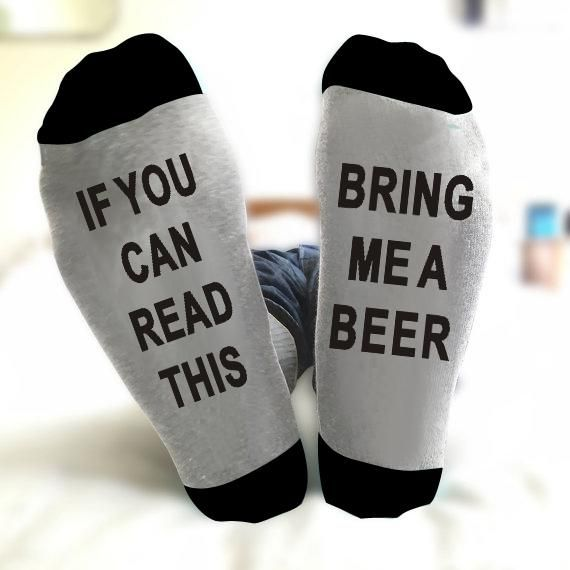 Unisex IF YOU CAN READ THIS BRING ME A BEER Socks