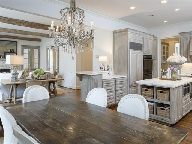 Beautiful kitchen! Love the mix of rustic and clean looks! Dare we say... #KitchenLove www.knsales.com