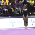 Her routine is so out of the norm! Amazing!
