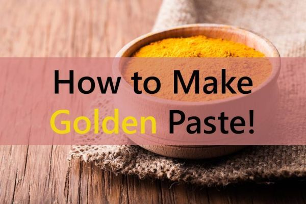 How to make golden paste