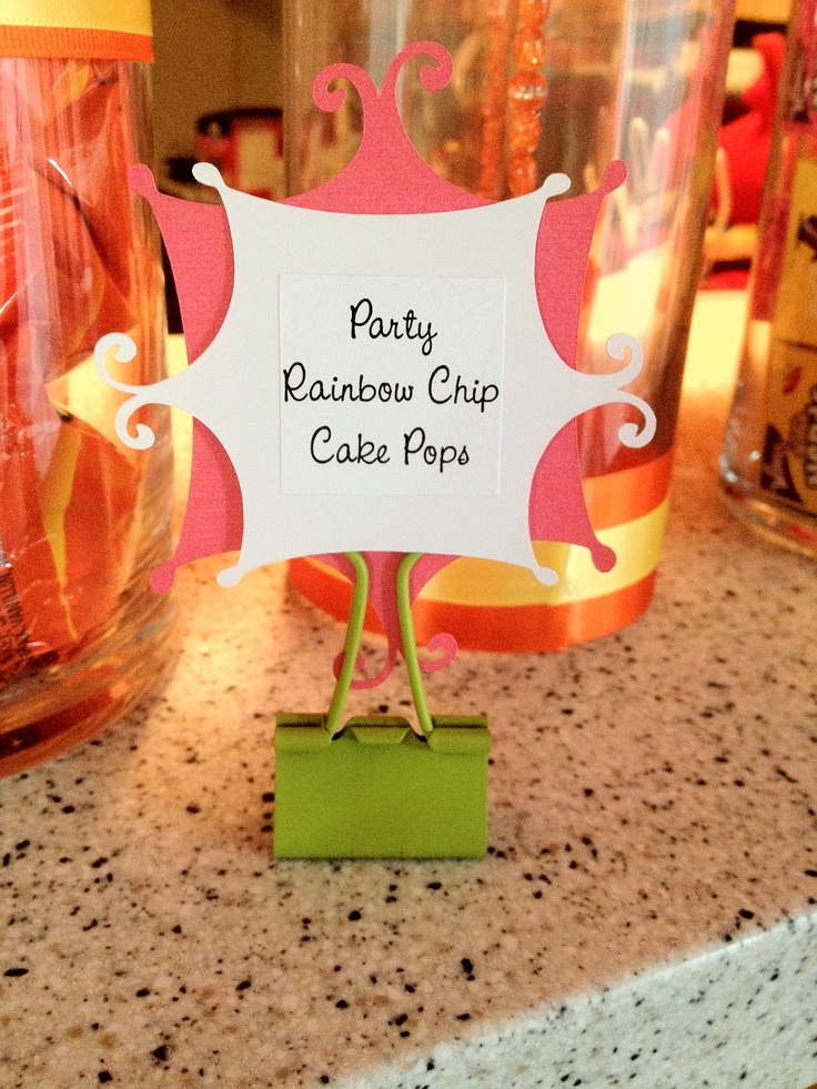 Attractive Dinner Party Name Ideas Part - 8: Dessert Table Name Tags