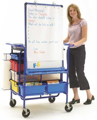teachers travel carts | Organization–> even on a cart