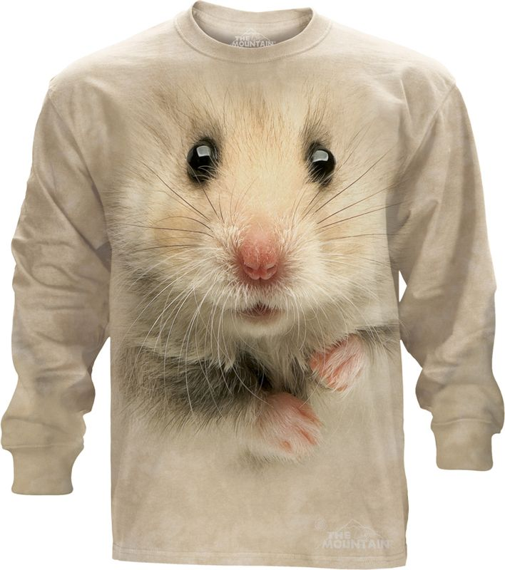 Hamster Long Sleeve T-Shirt - Womens Clothing - - Women T-Shirt - T-Shirts for women - Mens Clothing - Mens t-shirts - t-shirt for men - Unisex T-Shirts - Cotton T-Shirts - Long Sleeve T-Shirts - Long Sleeve T-Shirt - Christmas Ideas - Presents for Christmas