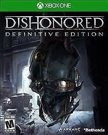 Dishonored: Definitive Edition (Microsoft Xbox One 2015) video game New