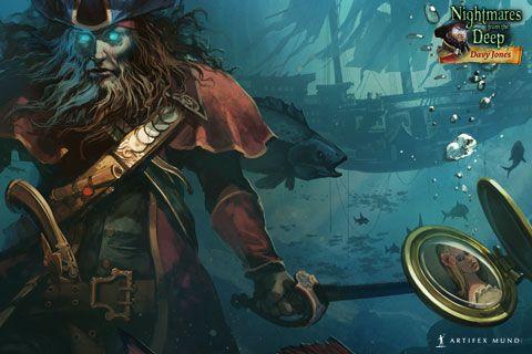 Nightmares from the Deep®: Davy Jones 480x320 #wallpaper