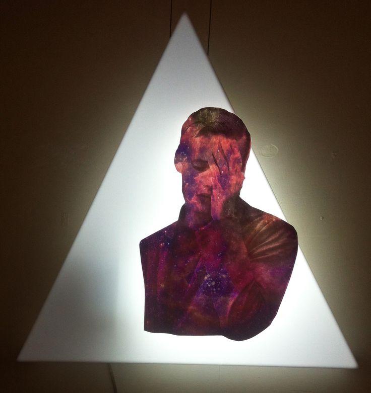 SALİHA YILMAZ / HAVA - AIR  Plexi Glass, Baskı, Led Işık / Plexi Glass, Print, Led Lighting, 50x55 cm, 2013.