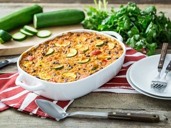 Mexican Bean and Rice Casserole