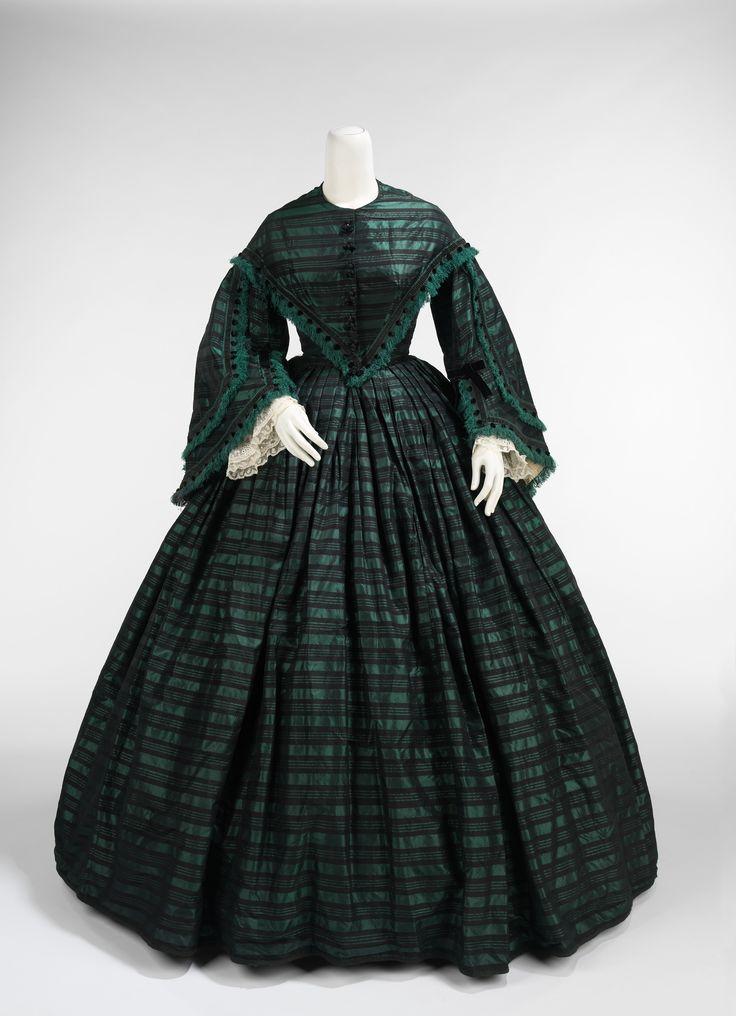 1865 Walking dress | American | The Metropolitan Museum of Art