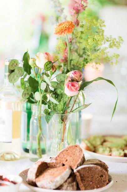 Tafel bloemen