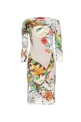 Etro Contrast Print Dress